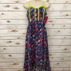 NWT XHILARATION Floral Maxi Dress